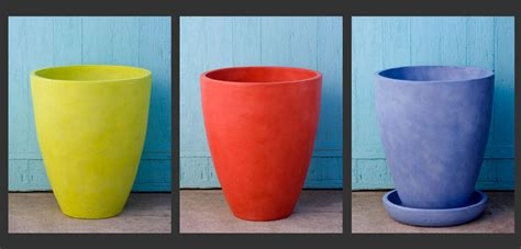 Bright Planters by 2014 Outdoor Decor Color Trends Bright Colors Bombay Outdoors