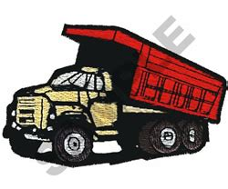 Dump Truck Embroidery Design Hqembroidery by Great Notions Embroidery Design Dump Truck 2 81 Inches H