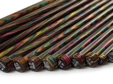 knitting needles set knit pro symfonie wood single point knitting needle set