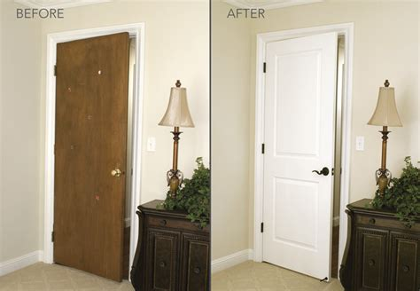 Old Door Decorating Ideas Before And After Transformations Modern Bedroom