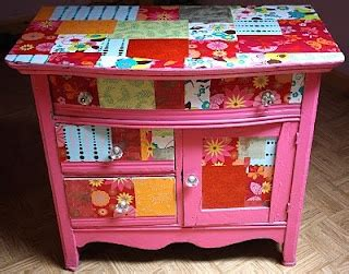 Decoupage Furniture With Scrapbook Paper - how is this decoupage baby i would to redo the