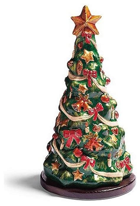 o christmas tree in paper mache frontgate christmas