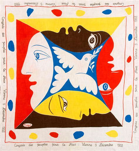 picasso paintings vienna when pablo picasso made textiles agenda phaidon