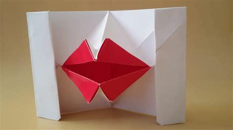 Origami Talking - origami talking tutorial boca de papel labios de