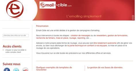 solutions de emailing developpeur integrateur web