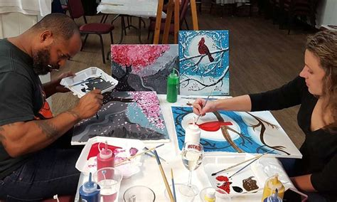 groupon paint nite md date with paint 27 baltimore md groupon
