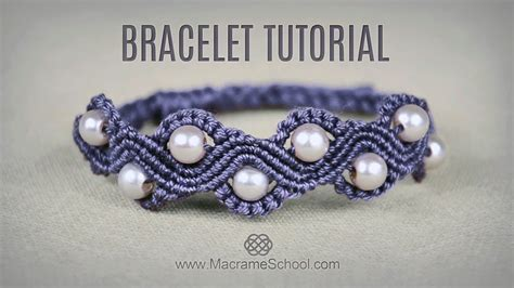 Macrame Bracelet Tutorials - diy macram 233 wave bracelet with tutorial macrame