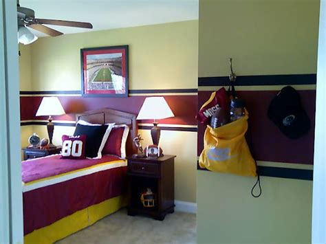 Redskins Bedroom by Hometalk Wall Murals Nancy Cleveland Montgomery S