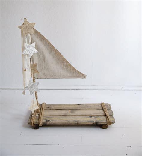 Handmade Photography - real wood vintage style wood raft prop raft prop baby raft