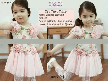 Dress Tutu Anak Mix Wedges Import st tutu grosir tanah abang baju import murah