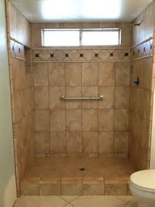 Shower Tile Designs For Small Bathrooms exquisite small bathroom shower tile design using brown