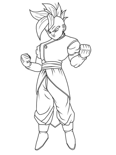 dragon ball z baby coloring pages dragon ball z kai coloring pages coloring home