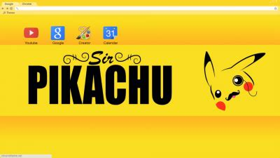 chrome theme pikachu pikachu chrome themes themebeta