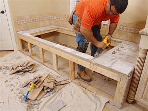 diy bathtub installation claw foot tub installation surround demolition how tos