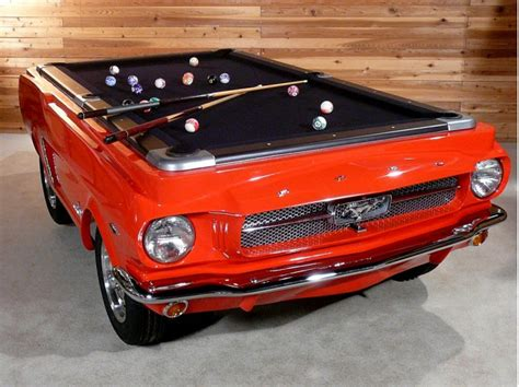 mustang pool table last minute shopper 1965 ford mustang pool table