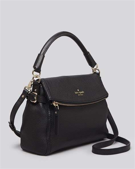 Kate Spade Mini lyst kate spade new york crossbody cobble hill mini minka in black