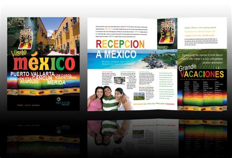 Brochure Of Mexico Mexico Brochure Template