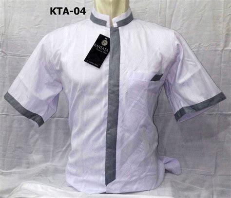 Baju Koko Putih Koko Putih Lengan Pendek Baju Koko Dewasa model baju koko putih lengan pendek cakep terbaru 2017