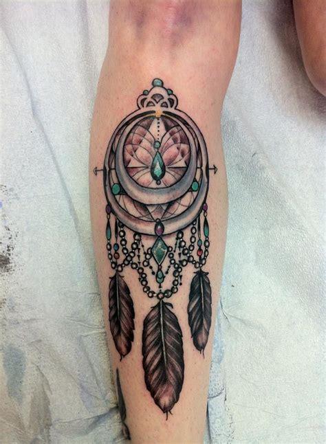dream catcher tattoo calf dream catcher tattoos tattoo design and ideas