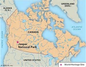 jasper national park canada map jasper national park national park alberta canada