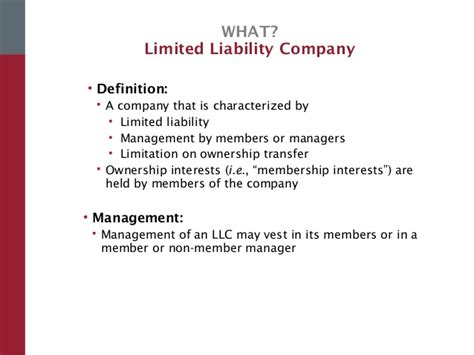 limited liability company facts information pictures 2015 11 4 wsu corp structure formation for start ups