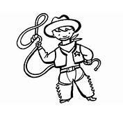 Imprimir Dibujo De Un Disfraz Vaquero Para Pintar En