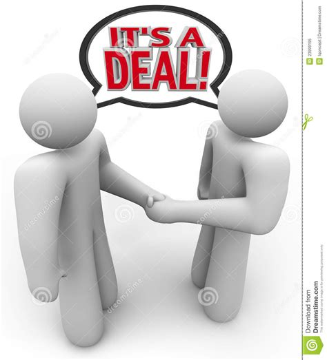 Making House Plans by It S A Deal People Buyer Seller Handshake Stock