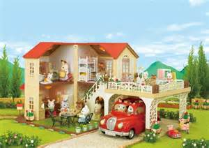 calico critters house new sylvanian families calico critters big house with car port ha 46 jp