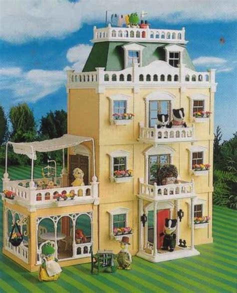 sylvanian haus deluxe country mansion s stuff