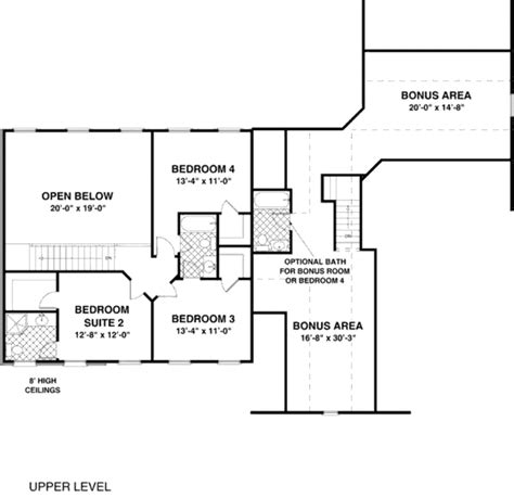 56 sq ft traditional style house plan 4 beds 3 5 baths 2499 sq ft