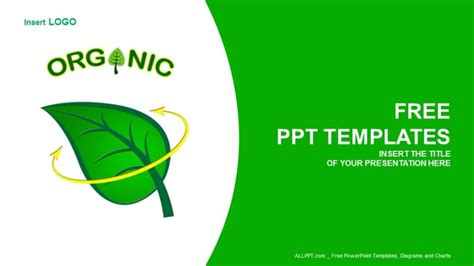 Eco Friendly Products Food Ppt Templates Eco Friendly Ppt Templates Free