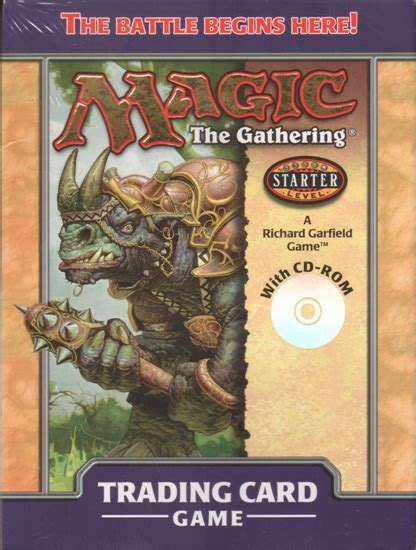 Magic The Gathering White Starter Deck by Magic The Gathering Starter Series 2000 2 Player Starter