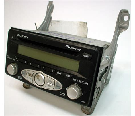 2006 scion xb problems 2006 scion xb factory pioneer mp3 stereo cd player r 1612 1