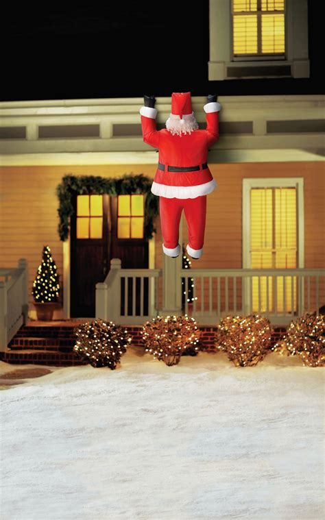 outdoor lighted santa claus santa claus is coming to town use this quirky outdoor