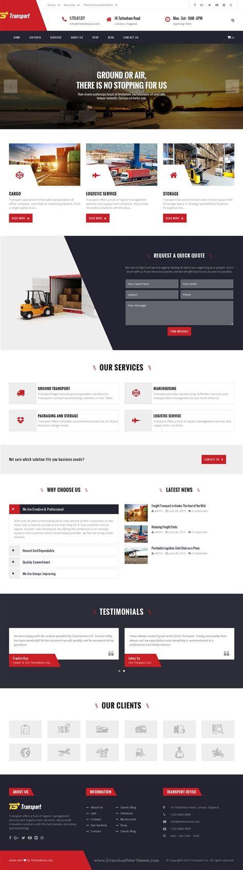 Bootstrap Templates For Logistics   17 ideas about transport logistics on pinterest