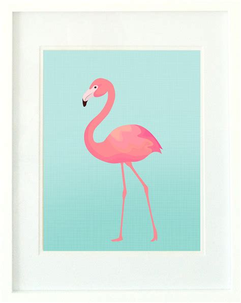 printable poster pictures flamingo print turquoise and pink flamingo wall art