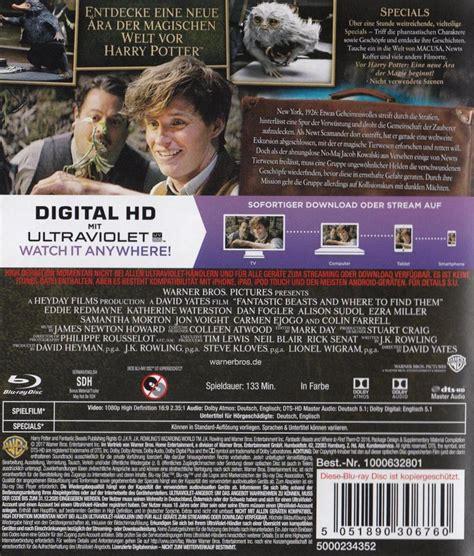 film blu ray zacina sie phantastische tierwesen und wo sie zu finden sind dvd