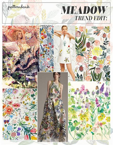 Summer 08 Trends Floral The Catwalk Looks by Pre Summer 2016 Catwalk Print Pattern Trend
