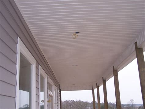 Vinyl Panels For Porch Ceilings Deck Ceiling Material