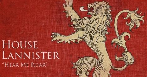house lannister a song of and families of westeros house lannister