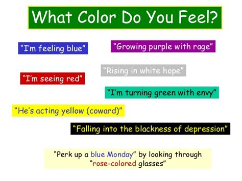 depression colors power of color