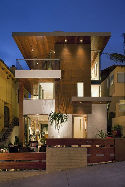 home front design build los angeles 7th street residence contemporary exterior los