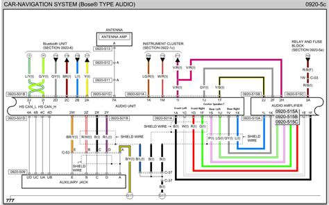 intrigue  bose factory sound wiring diagram  colors