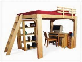 How To Build A Loft Bed Frame Bedroom How To Build A Loft Bed Loft Bed Bedroom Designs Free Bunk Bed Plans As Well