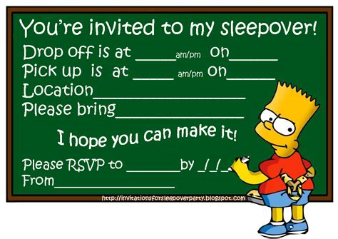boy birthday invitation templates invitations for sleepover