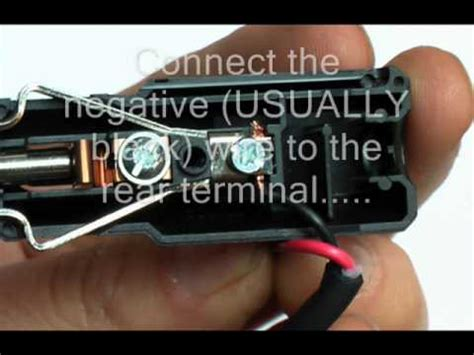 how to wire a car cigaretter lighter