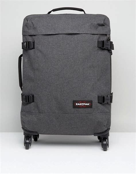 eastpak cabin luggage eastpak eastpak trans4 cabin luggage