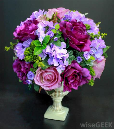types of flower arrangement what are the different types of artificial flowers