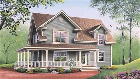 american style house designs american country style house plans youtube
