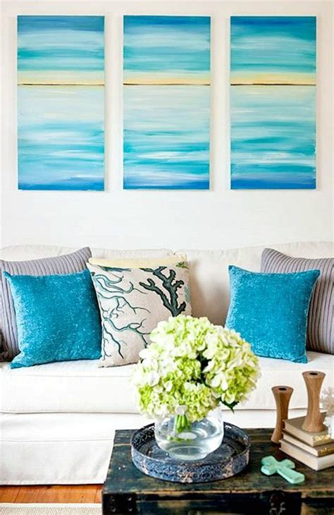 Better Homes And Gardens Wall Decor create a soothing beach vibe with easy diy ocean canvas